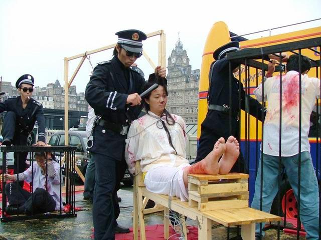Contro la tortura a Edimburgo